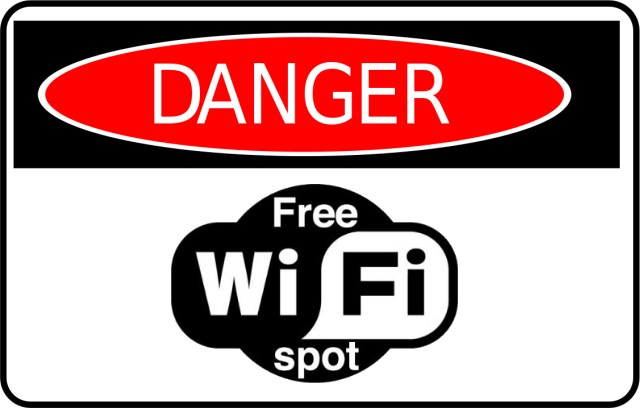 Avoid free public wi-fi